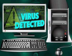 virus detected computer